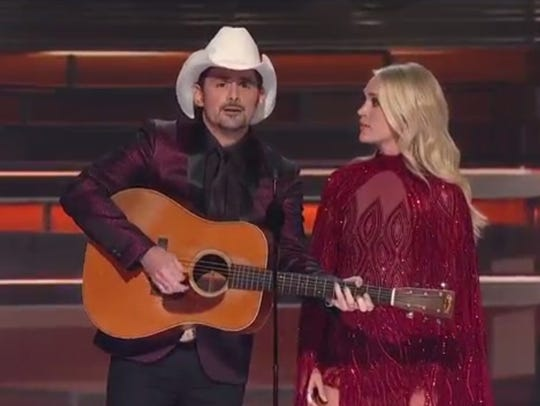 Brad Paisley and Carrie Underwood turned 'Before He