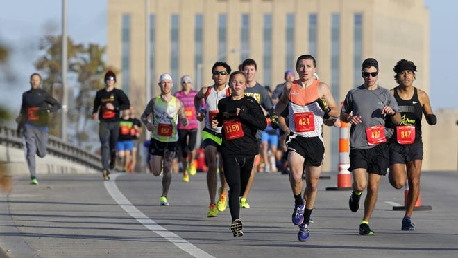 The Houdini 10K, starting in downtown Appleton, has become a popular fall race in the Fox Cities.