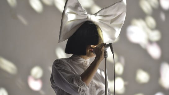 Australian singer and songwriter Sia performs during