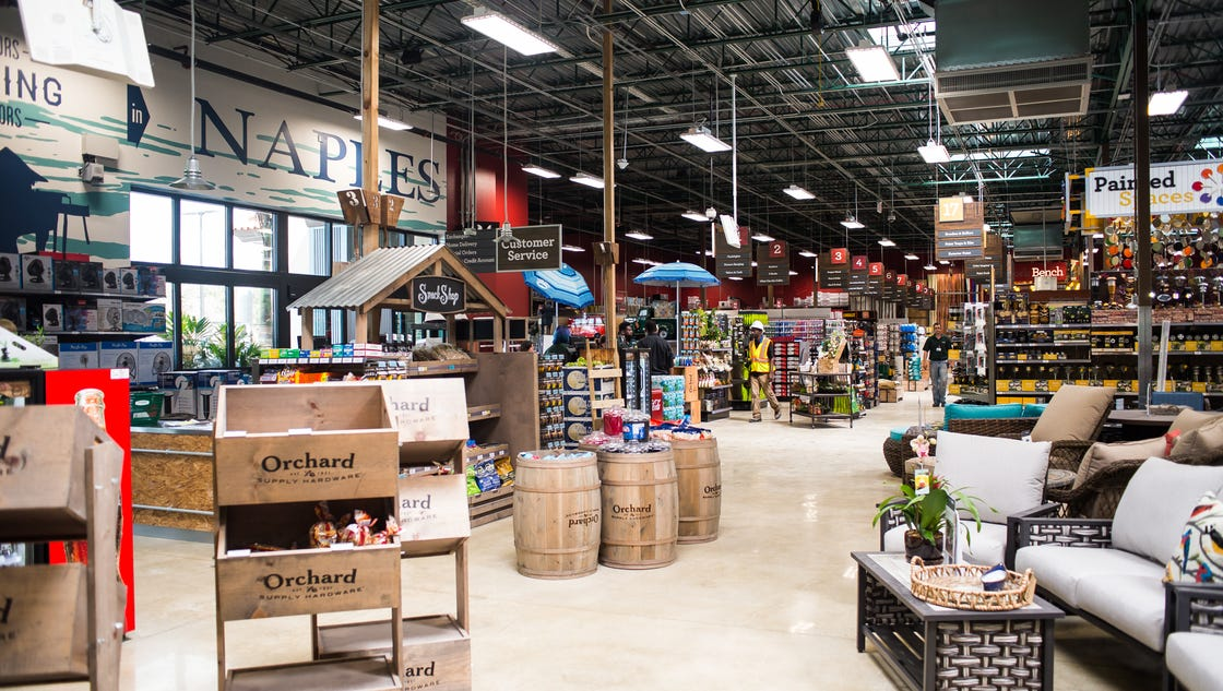 Orchard Supply Hardware Expands In Naples