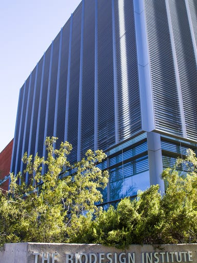 ASU's Biodesign Institute on campus in Tempe is a major