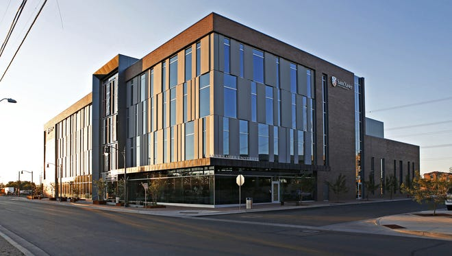 Gilbert may secure Park University as a new tenant for the four-story, $37 million building that housed Saint Xavier.