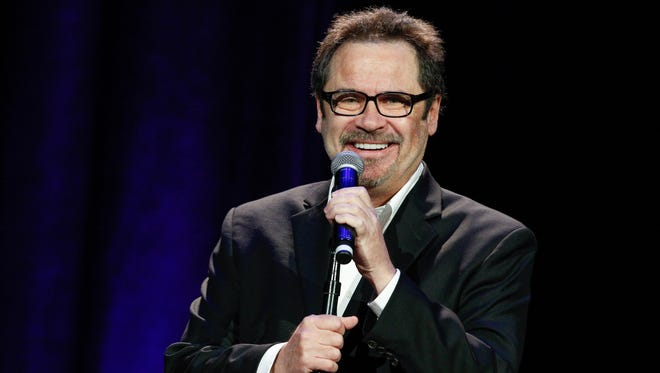 """Miller's """"An Evening With Dennis Miller"""" is 7 and 9:30 p.m. June 23 at the Bijou Theatre, 803 S. Gay St."""