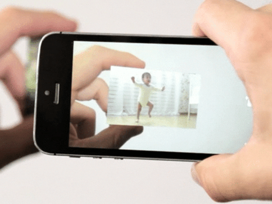 LifePrint is an augmented reality photo printer that