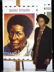 Indianapolis poet and author Mari Evans was one of