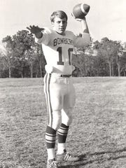 Gary Pitts, a three-year letterman in four sports at Mountain Home High School.