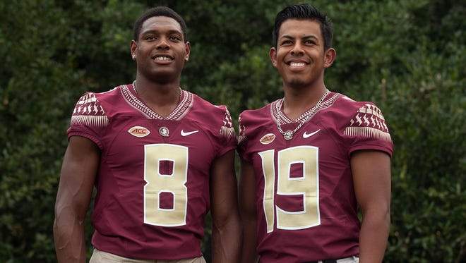 Jalen Ramsey (Jacksonville Jaguars)  and Roberto Aguayo (Tampa Bay Buccaneers) both will stay inside the state of Florida to begin their NFL careers.