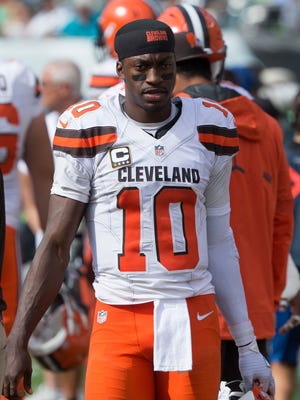 Robert Griffin III placed on injured reserve with shoulder injury