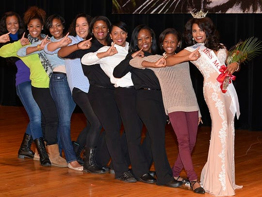 The Miss Monroe pageant is Saturday at Neville High