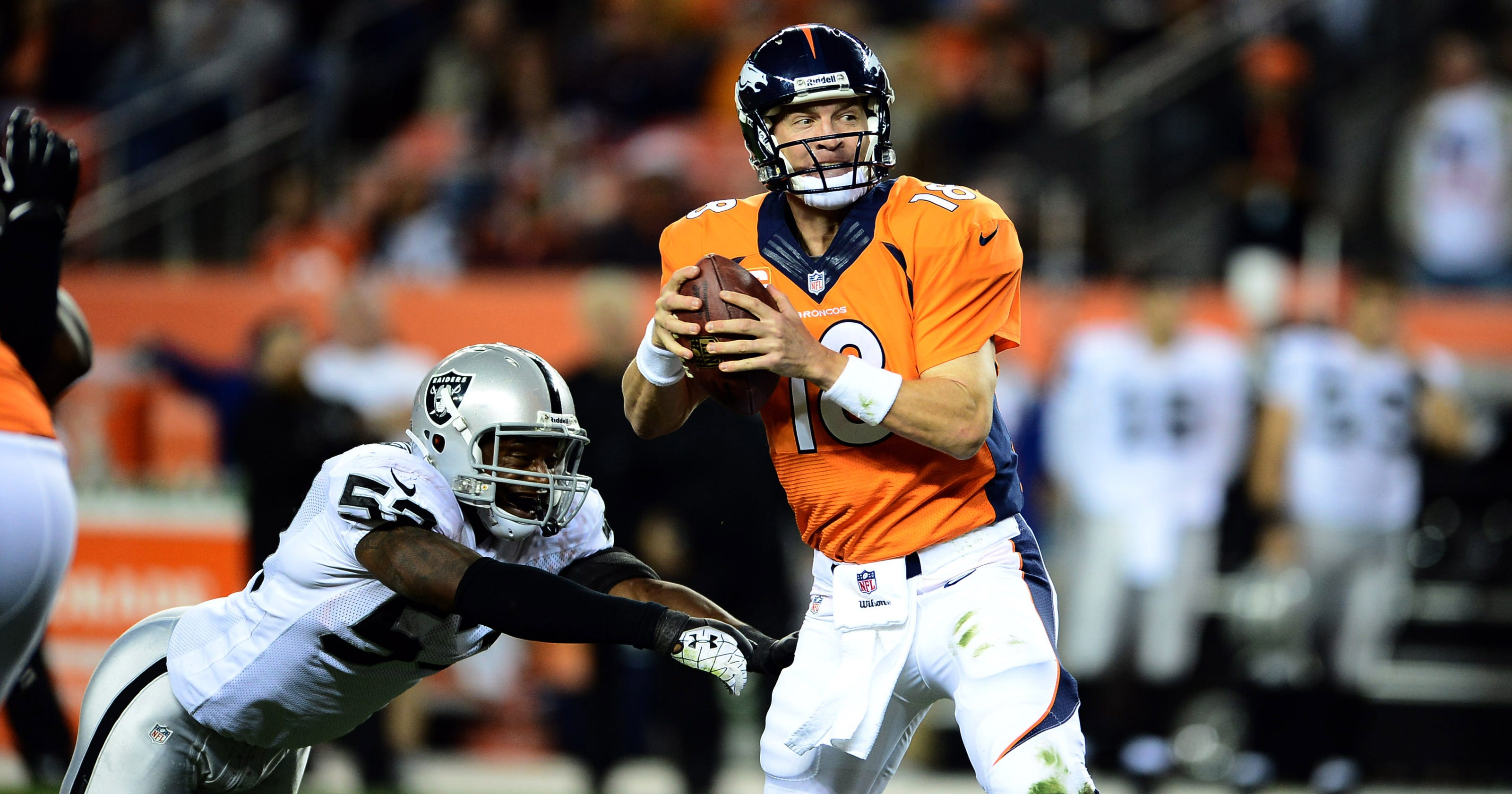 Defenses Dumbfounded On How To Get To Peyton Manning