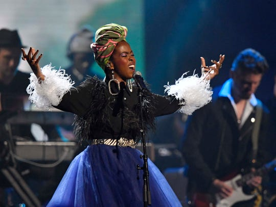 Lauryn Hill pays tribute to Nina Simone.