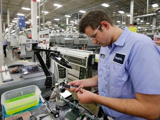 AP Ohios Economy Manufacturing