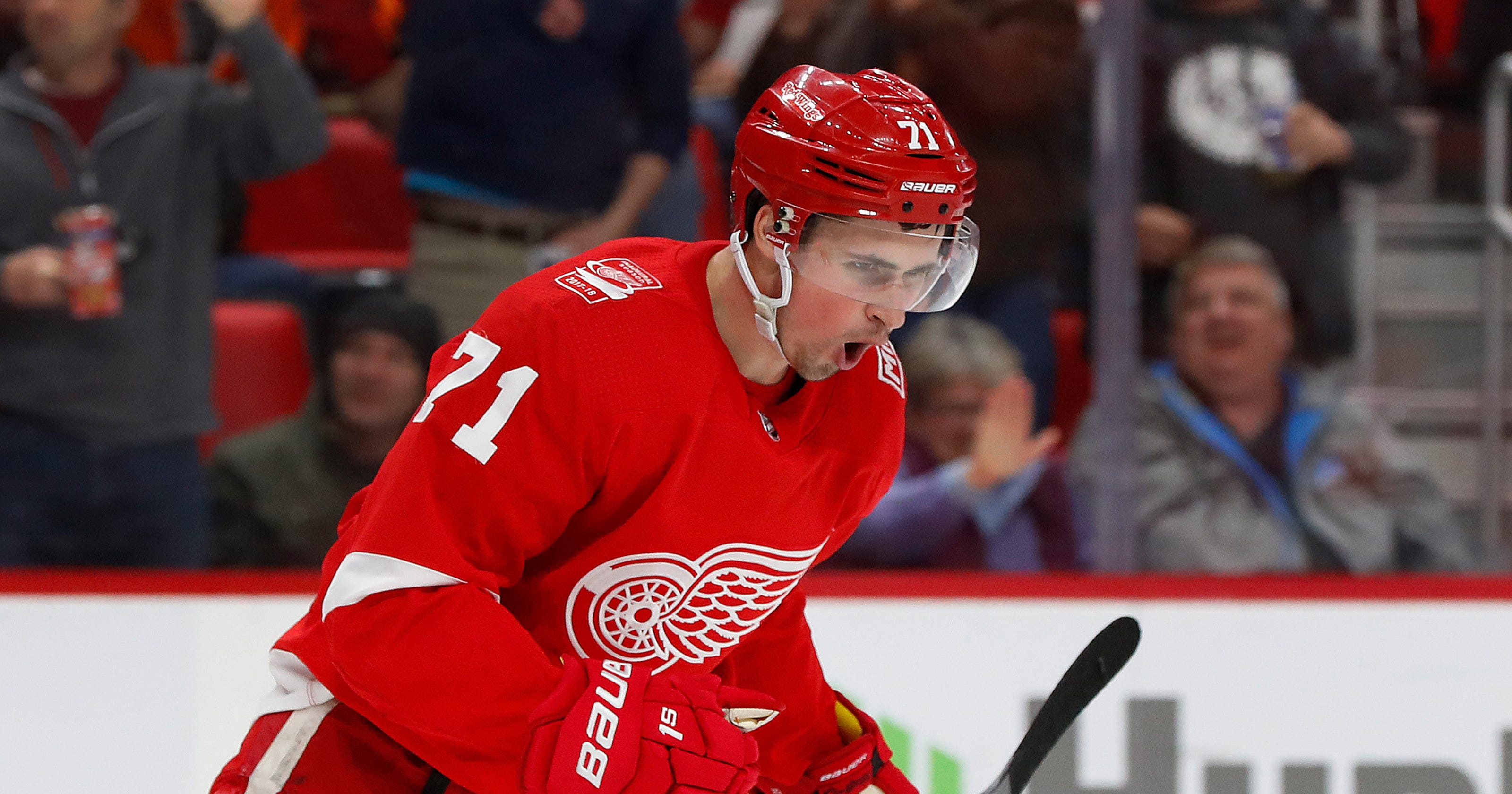 99aaba31e33 Dylan Larkin's new deal may mean he's next Detroit Red Wings captain