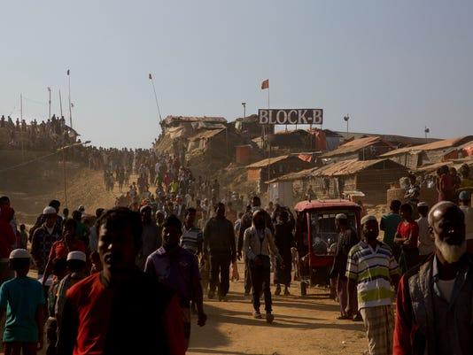 AP BANGLADESH MYANMAR ROHINGYA I BGD