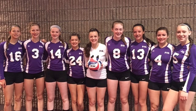 The Biltmore Volleyball Academy 14 and under national team.