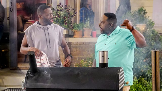 """Cedric the Entertainer (""""Barbershop"""") headlines this comedy about a man who is suspicious of the friendly Midwestern family that moved in next door. Sheaun McKinney (""""Great News"""") co-stars."""
