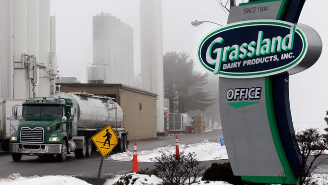 Grassland Dairy Products, Inc. in Greenwood in 2013.