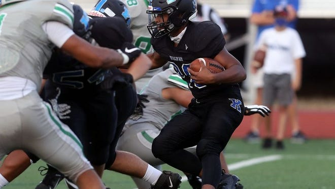 Running back Trey Davis and Worthington Kilbourne visit Big Walnut on Friday, Sept. 18, for an OCC-Capital game.