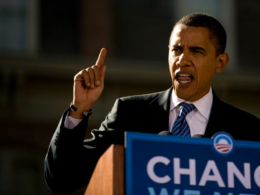 Barack Obama Campaigns In Reno