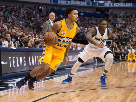 NBA: Denver Nuggets at Dallas Mavericks