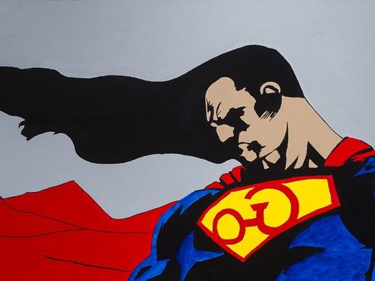 Super Heroes: Art! Action! Adventure!