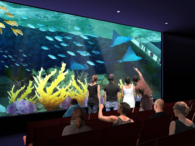 The future OdySea Aquarium, a 16-acre indoor attraction planned for the corner of the Pima Freeway and Via de Ventura, will be the largest and most expensive phase of the new $175 million OdySea in the Desert entertainment complex.