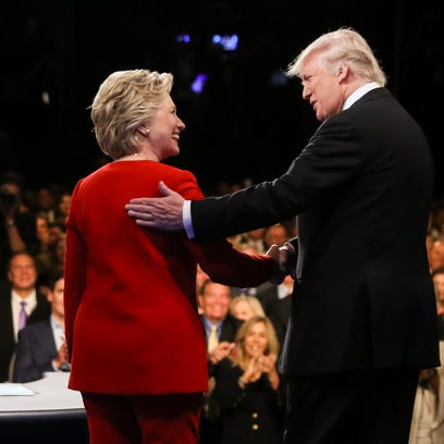 Debate fact check: Here's that long list of fibs and falsehoods