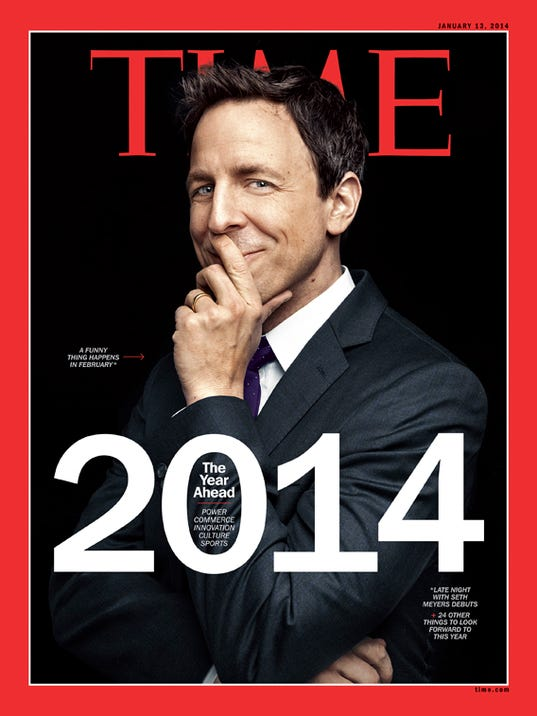 TIME Cover - Seth Meyers
