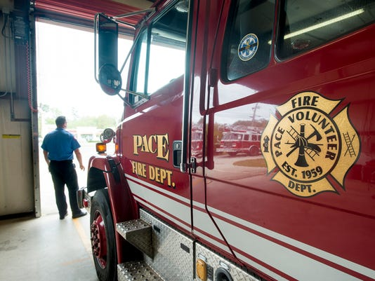 Pace Pea Ridge Fire Station
