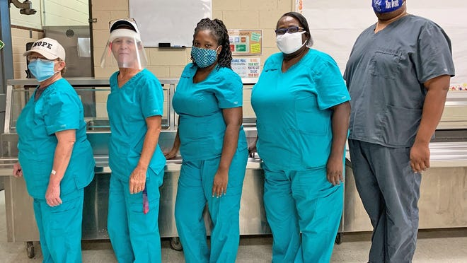 Williston District 29's food service staff have been vital throughout the COVID pandemic as they worked to continue to feed students.