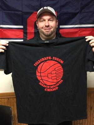 Bucyrus' Randy Blankenship wins the Telegraph-Forum Bracket Challenge