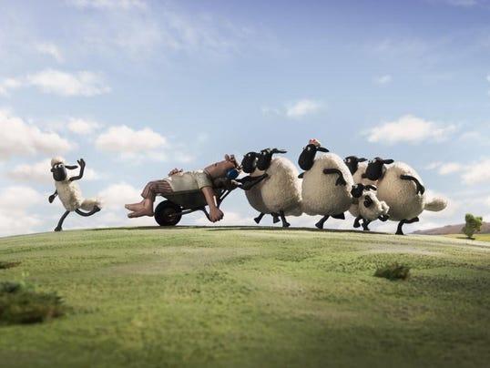 Shaun the Sheep inside art