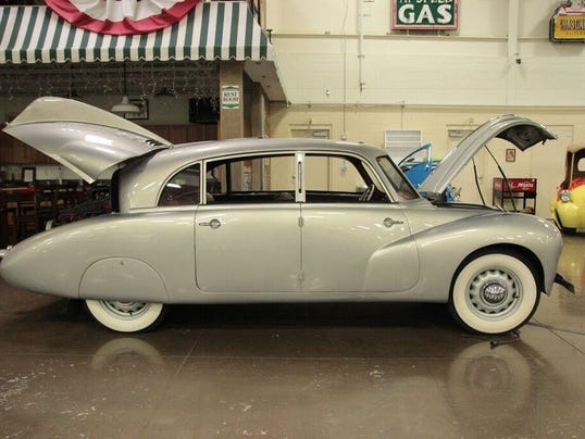 1948 Tatra T87 Sedan owned by Ted Stahl of Chesterfiled Twp