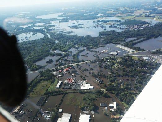 North Carolina flooding devastates 'poorest of the poor'
