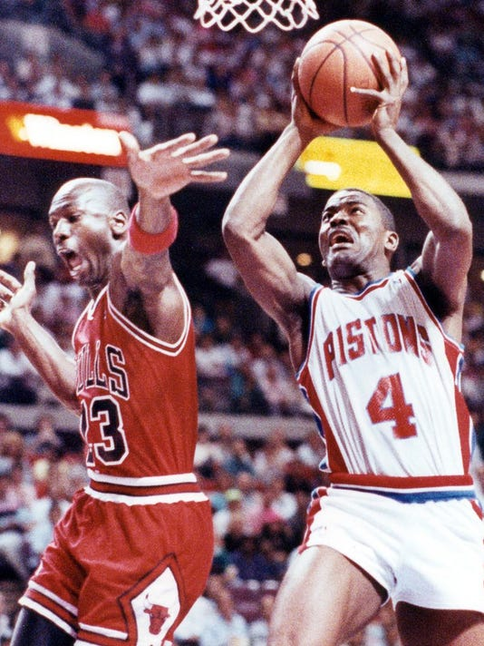 Joe Dumars, Michael Jordan