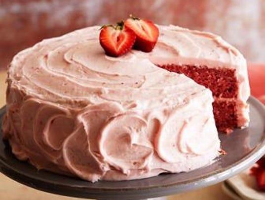 Strawberry Cake Recipe Food Network