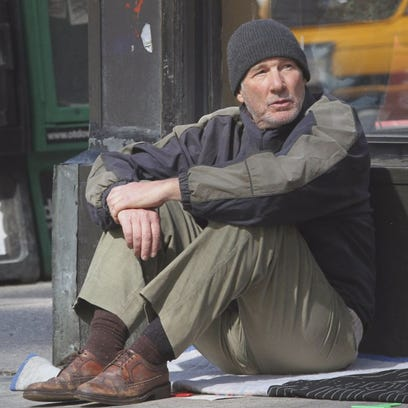 "Richard Gere portrays a homeless man in the film ""Time Out of Mind,"" which will be screened at the Sarasota Film Festival."