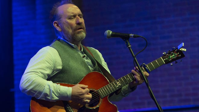 Colin Hay, subject of a documentary, performed and took audience questions at the Asbury Park Music in Film Festival.