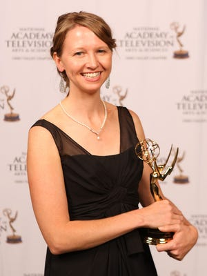 The Enquirer's Carrie Cochran won two Emmys at the Ohio Valley Regional Emmy Awards Saturday night.