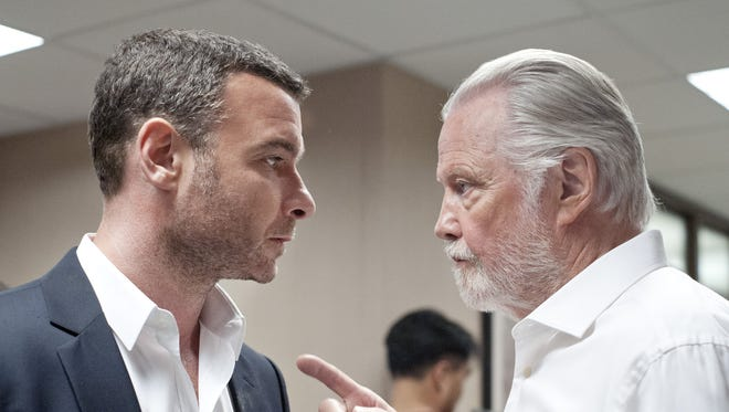 Liev Schreiber (left) is nominated for Best Actor in a TV Drama for playing Ray Donovan in 'Ray Donovan.'