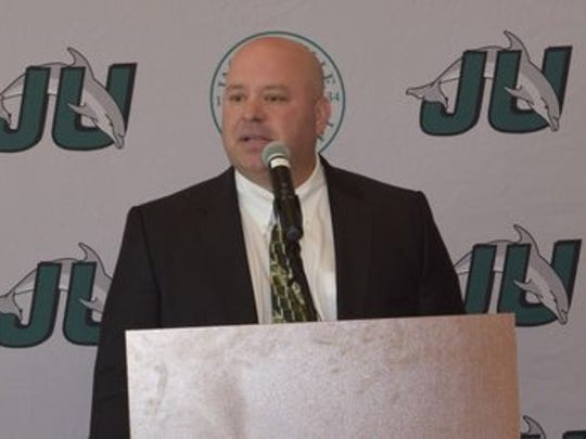Less than a week removed from parting way with head football coach Kerwin Bell, Jacksonville University has it's new head man in the form of Ian Shields.