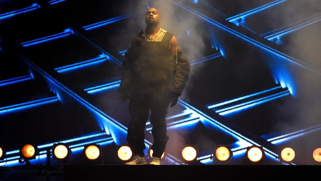 Kanye West performs at the Billboard Music Awards at the MGM Grand Garden Arena on Sunday, May 17, 2015, in Las Vegas.