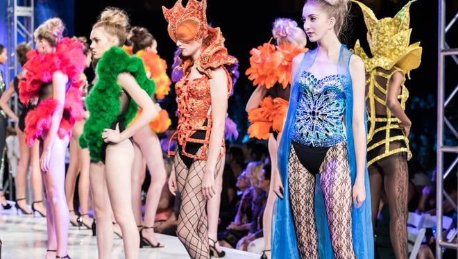 Rocky Gathercole will return to Phoenix Fashion Week with his extravagant couture designs.