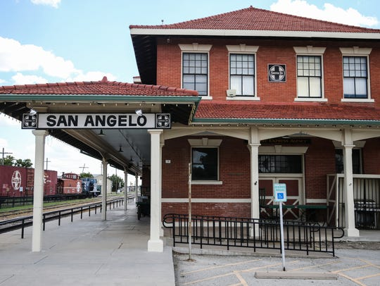 The Railway Museum of San Angelo at 703 S. Chadbourne