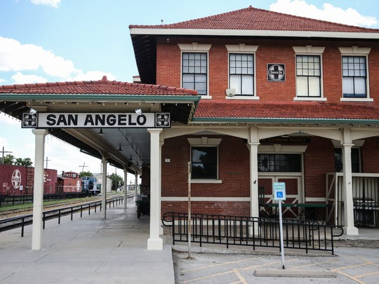 The Railway Museum of San Angelo at 703 S. Chadbourne St.