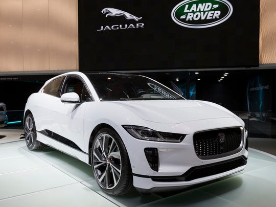 The New Jaguar I-PACE is presented during the press