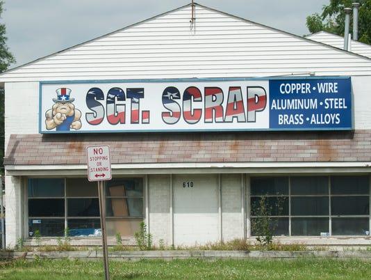 Sgt. Scrap in Gloucester City