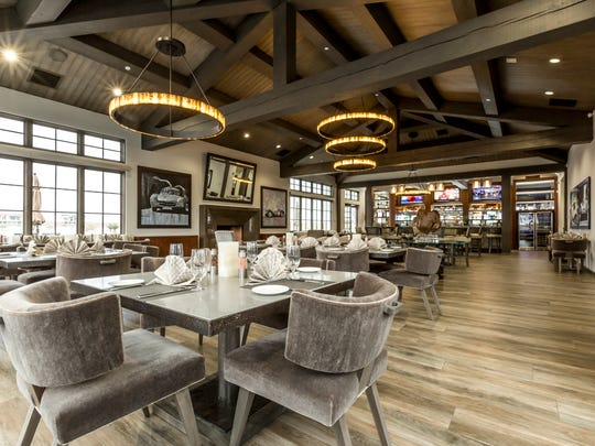 Members of Thermal Club can dine in the track's in-house restaurant and bar.