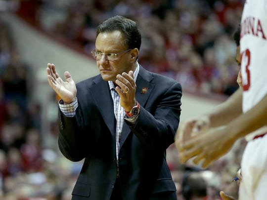 Tom Crean won two outright Big Ten championships during his nine years in Bloomington.