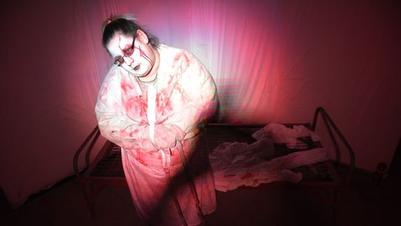 Tamika Larsen is one of the scares in Jaycees Haunted